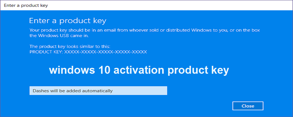 windows 10 enterprise license key free