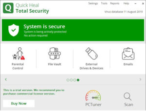 quick heal total security crack With License Key Free Download